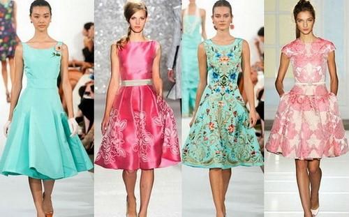 Korotkiye-letniye-platya-6 Летние платья 2019: модные платья лето