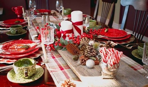 Красивая сервировка праздничного стола - фото идеи