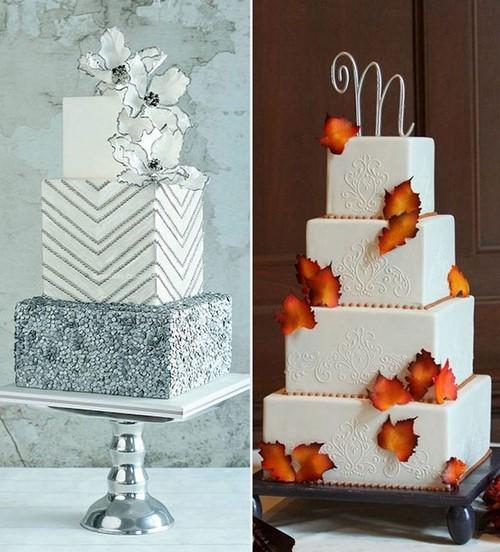Готовитесь к свадьбе? Красивые свадебные торты - фото идеи