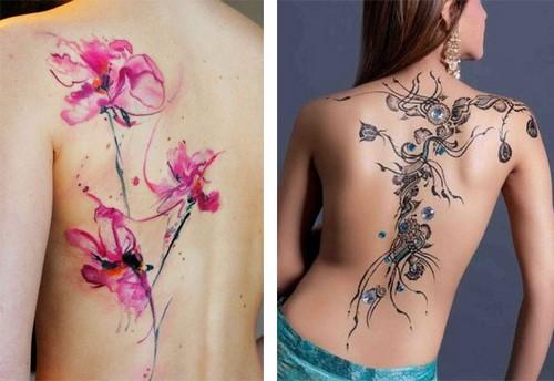 Яркий способ самовыражения! Женские татуировки и тату для девушек - фото идеи
