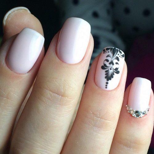 Смотреть Весенний дизайн ногтей гель лак видео