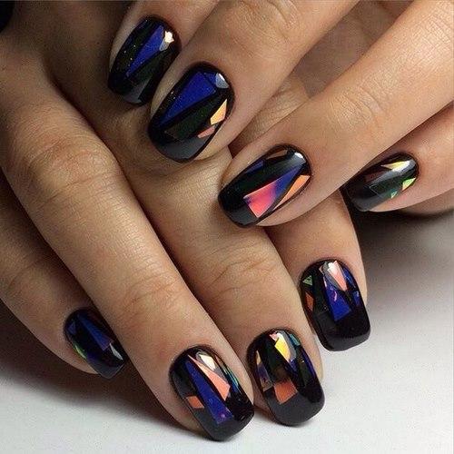 Геометрический маникюр - супер модный тренд нейл-арта