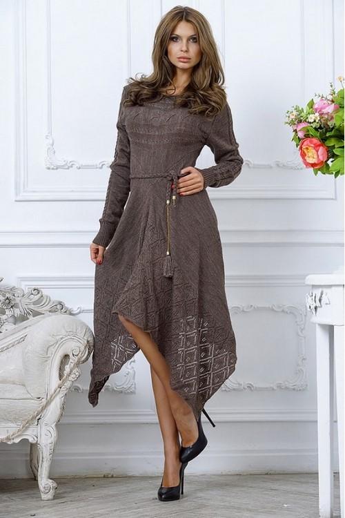 модные вязаные платья 2019 2020 фото вязаное платье фасоны