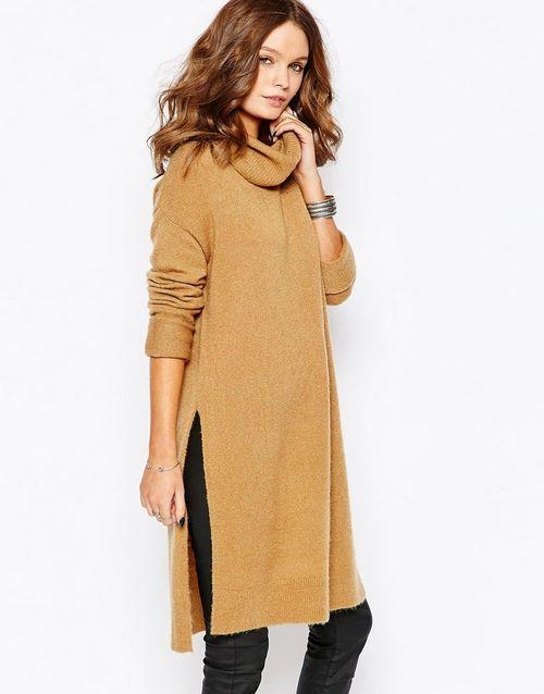 Модные вязаные платья 2019-2020