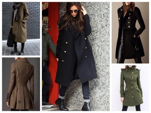 Модные пальто осень-зима 2017-2018 фото, фасоны, новинки, идеи образов