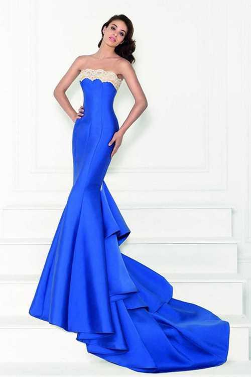 Модные вечерние платья годе - самый шикарный фасон вечернего наряда