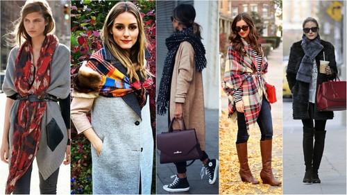 Красивые шарфики осень-зима 2019. Что модно рекомендации