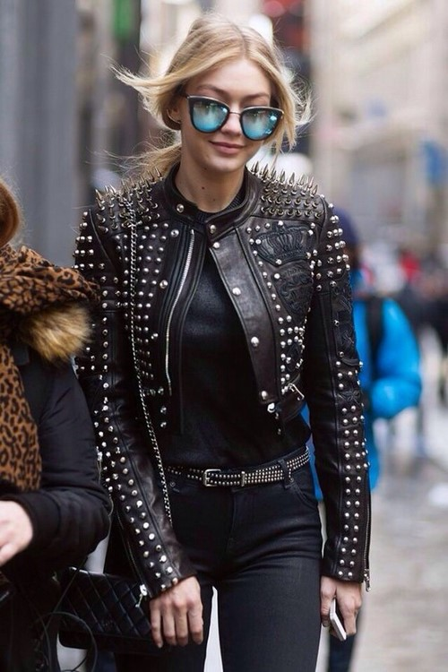 Модные куртки косухи 2020-2021 - фото, идеи, с чем носить