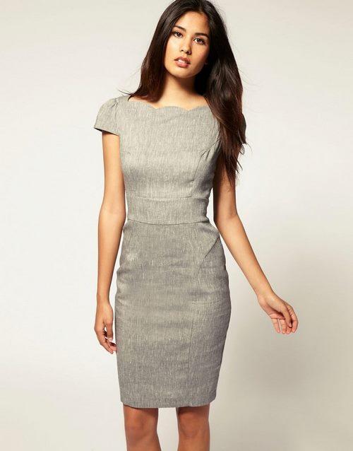 0b225ae15c9 Если рассматривать офисные платья в спектре фасонов