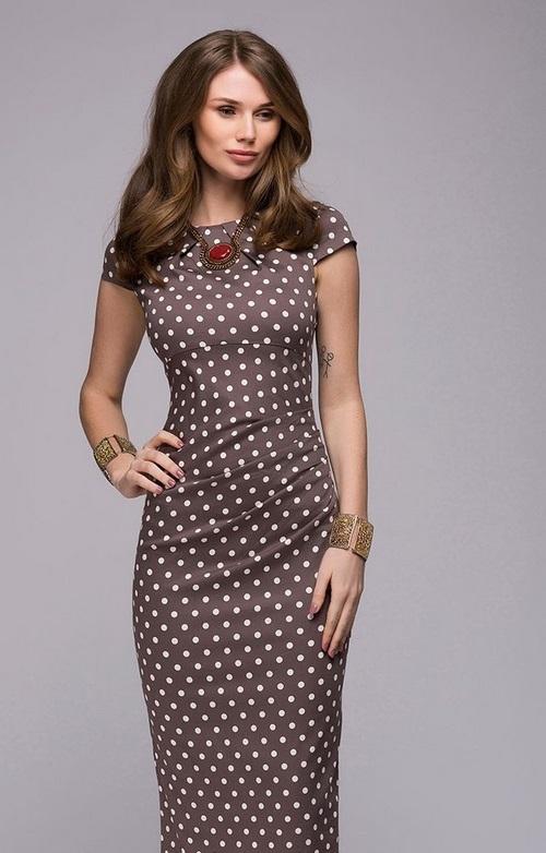 Модные офисные платья 2020-2021 - фото, фасоны, идеи образов