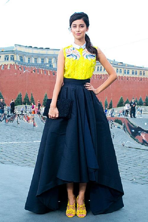 Модные комплеткы юбка блузка 2018-2019 - фото, юбка с блузкой разных фасонов, цветов