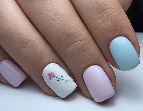Модный дизайн коротких ногтей: супер идеи и новинки маникюра