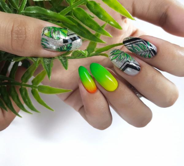 Новинки маникюра омбре 2020-2021: крутые идеи дизайна ногтей с градиентом