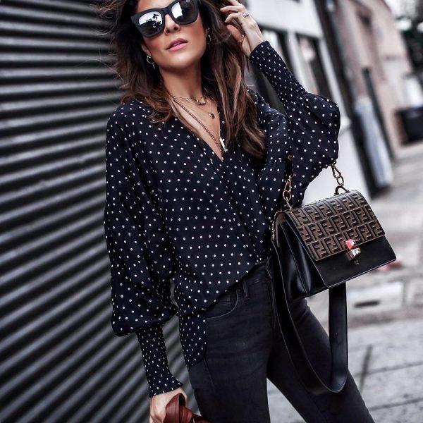 a7d483015300 Модные блузки 2019-2020: новинки фасонов, лучшие модели, фото ...