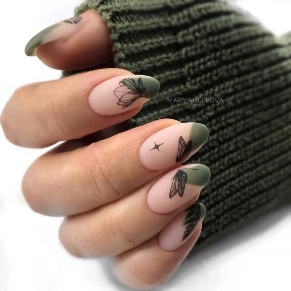 Стильный маникюр на осень 2020-2021: обзор трендов и фото идей дизайна осенних ногтей