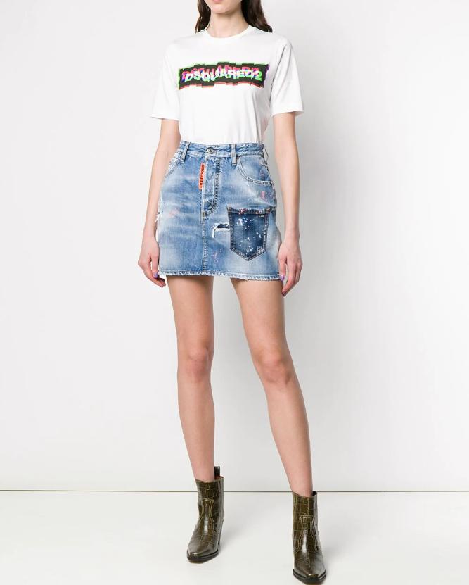 Суперские джинсовые юбки 2020-2021: лучшие модельки и тренды сезона