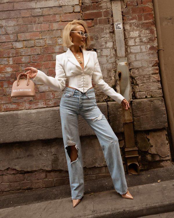 Модные новинки женских джинсов 2020-2021: самые трендовые и оригинальные модельки