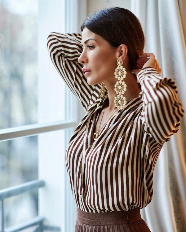 Модные женские рубашки 2020-2021: красивые модели и фото-тренды