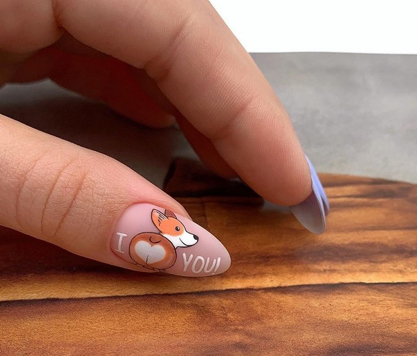 Самый красивый маникюр на разную длину ногтей: фото новинки