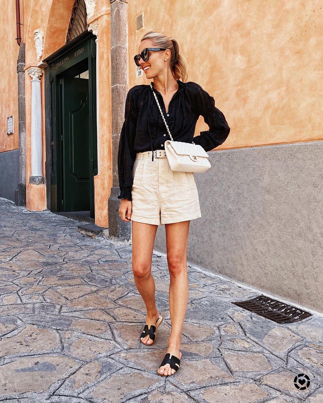 Летние женские шорты 2021-2022 в актуальных моделях и стильных образах