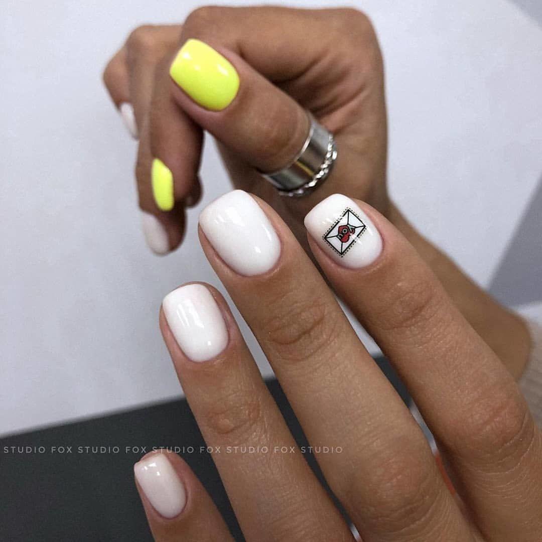 Короткие ногти 2021-2022: модный дизайн, фото идеи маникюра на короткие ногти