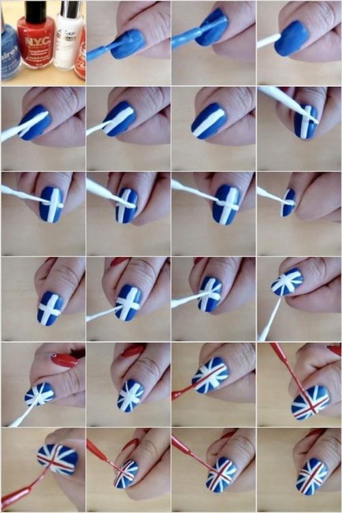 Как сделать маникюр на ногтях в домашних условиях